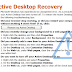 วิธีแก้ปัญหา Active Desktop Recovery Script Error!! หน้าจอสีขาว