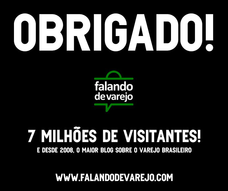 7.000.000 de visitantes! Muito obrigado!