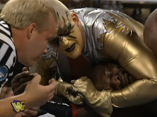 WWF / WWE - King of the Ring 96 - Goldust lost the Intercontinental Title to Ahmed Johnson