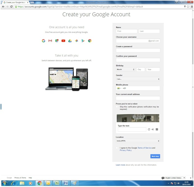 How to Create Account On Gmail Guide