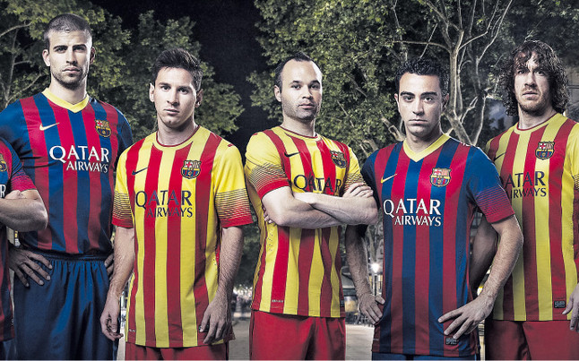 774fa636ce Camiseta Nike del FC Barcelona 2013-14 - Nuevo Fútbol