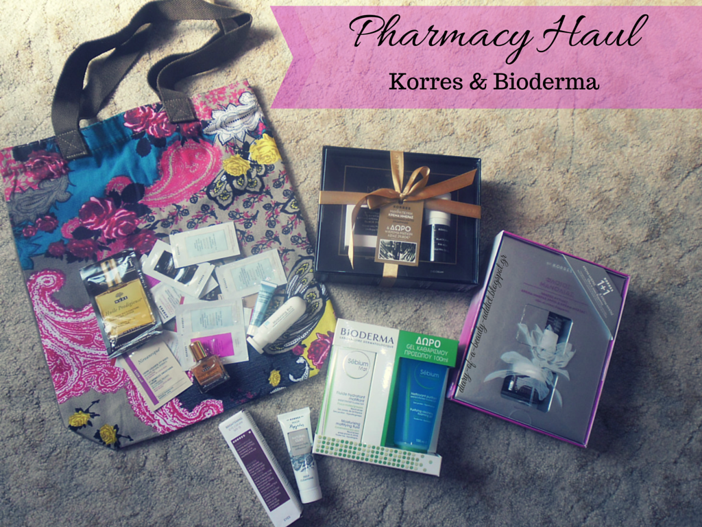 Pharmacy Haul [Korres,Bioderma]