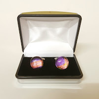 Mens cuff links present