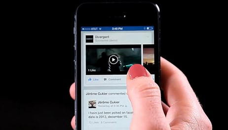 How to post videos on facebook mobile