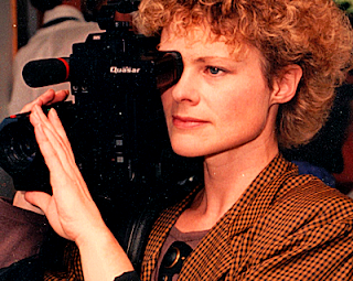 Carol Rainey at work, 1994