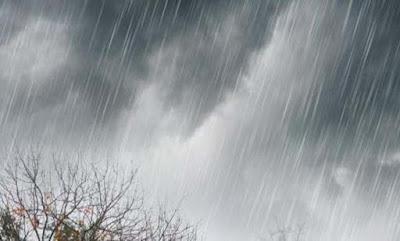 ilustrasi hujan deras di Kabupaten Sula, Malut