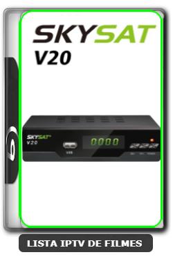 Skysat V20 Atualização Online Adicionada V1.885 - 12/09/2020