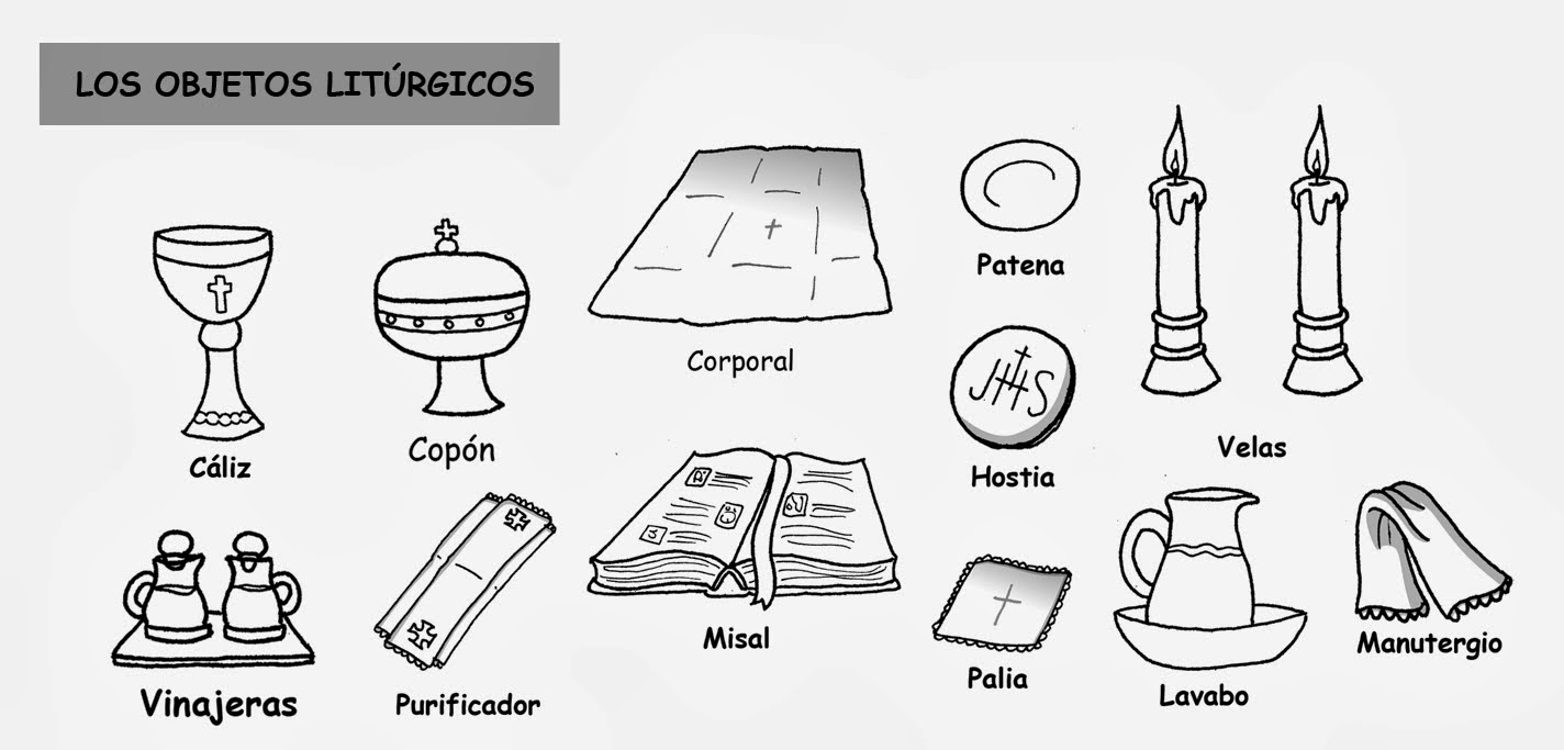 ReliArtes: Objetos litúrgicos (Dibujo)
