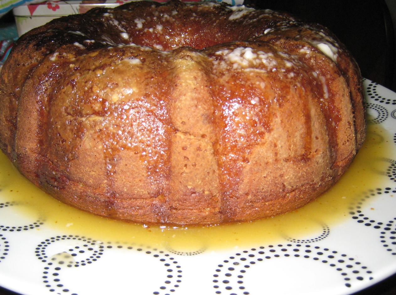 Think Make Create Apricot Nectar Cake