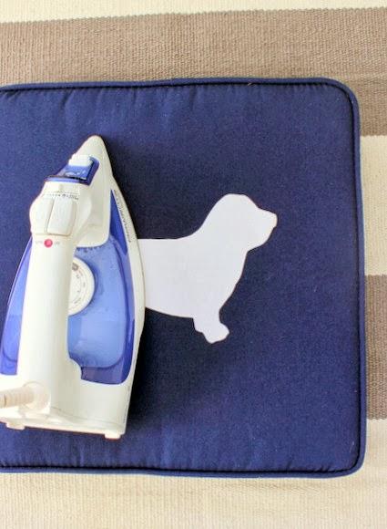 Iron on fabric