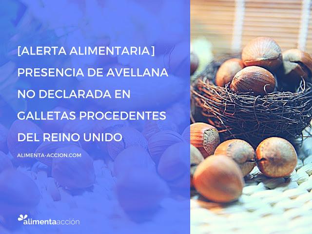 alergia, alerta alimentaria, alérgenos, frutos secos, seguridad alimentaria