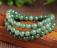 Fine Natural jade stone necklace