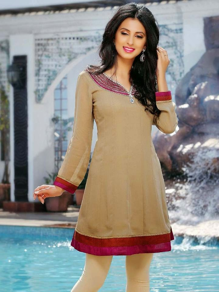 New Designs Of Ladies Kurti And Tunic For Formal And Casual Wear By