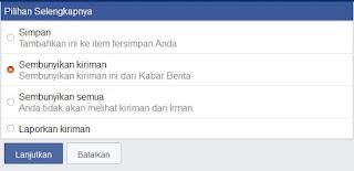 Cara Blokir Kabar Berita di Facebook yang Mengganggu