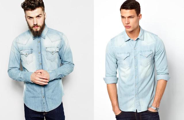 Jaqueta Jeans Clar masculino