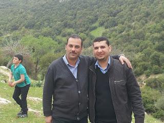 خالد كناني و معاذ الشناق المكان عنبه الاردن
