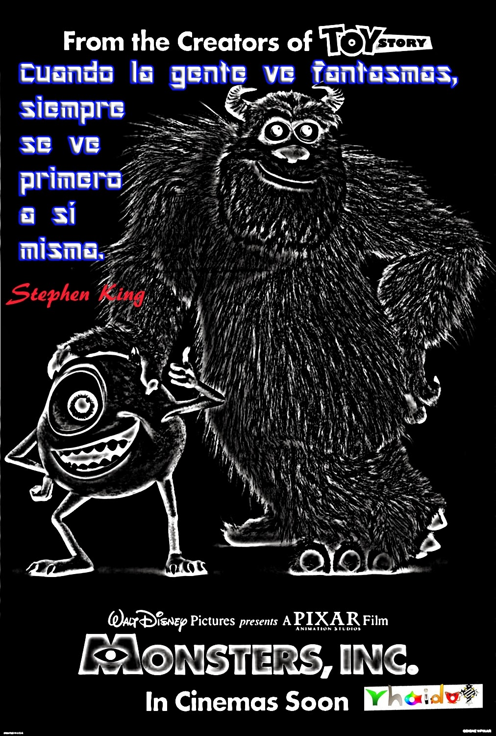 Monsters Inc Stephen King