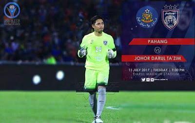 Live Streaming Pahang vs JDT FC Liga Super 11 Julai 2017
