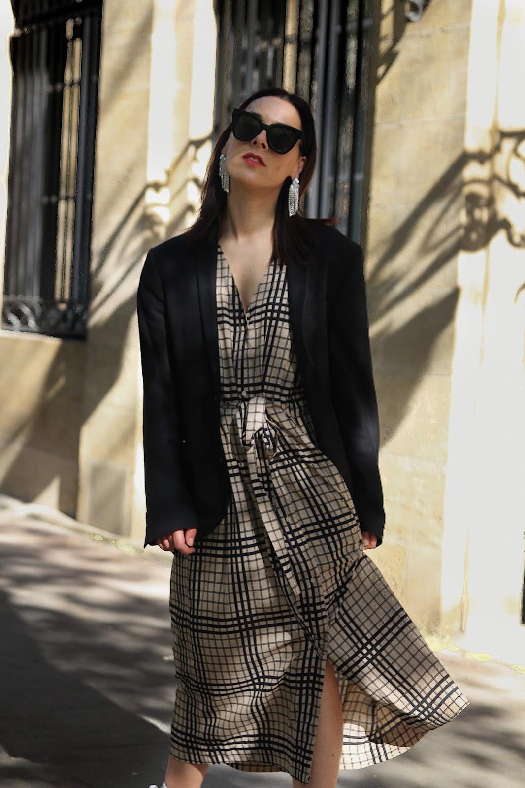 porter une robe avec des falcon tendance printemps 2019