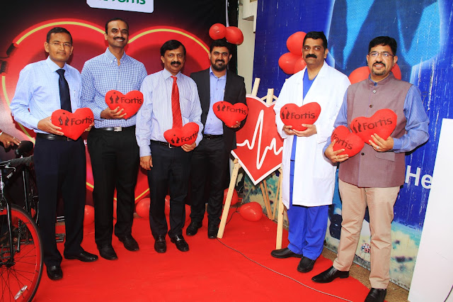 Fortis pedals for Healthy Heart among Bangaloreans on World Heart Day