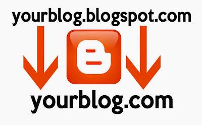 cara custom domain / mengganti domain blogspot menjadi domain .com
