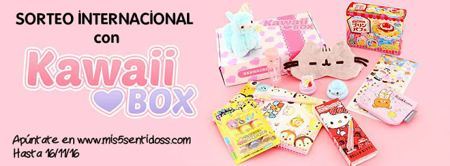 Ganadora de una Kawaii Box