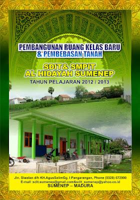 Contoh Cover Proposal Maulid Nabi Gamis Murni