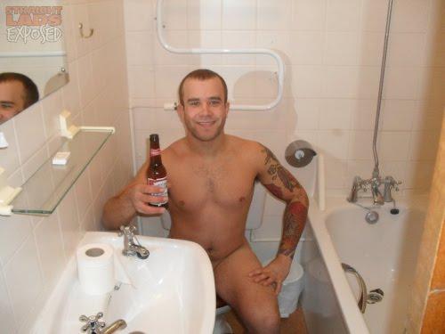 Naked Toilet Men 77