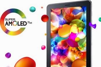 Layar Super Amoled Plus pada Samsung galaxy Tab 7.7