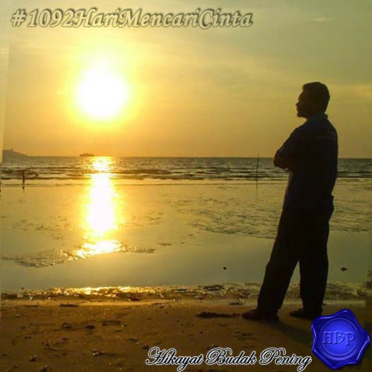 sunset, silhouette, pantai, view