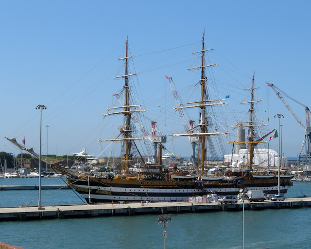 Amerigo Vespucci (A 5312), port of Livorno