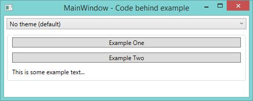Managing themes in WPF   Awkward Coder