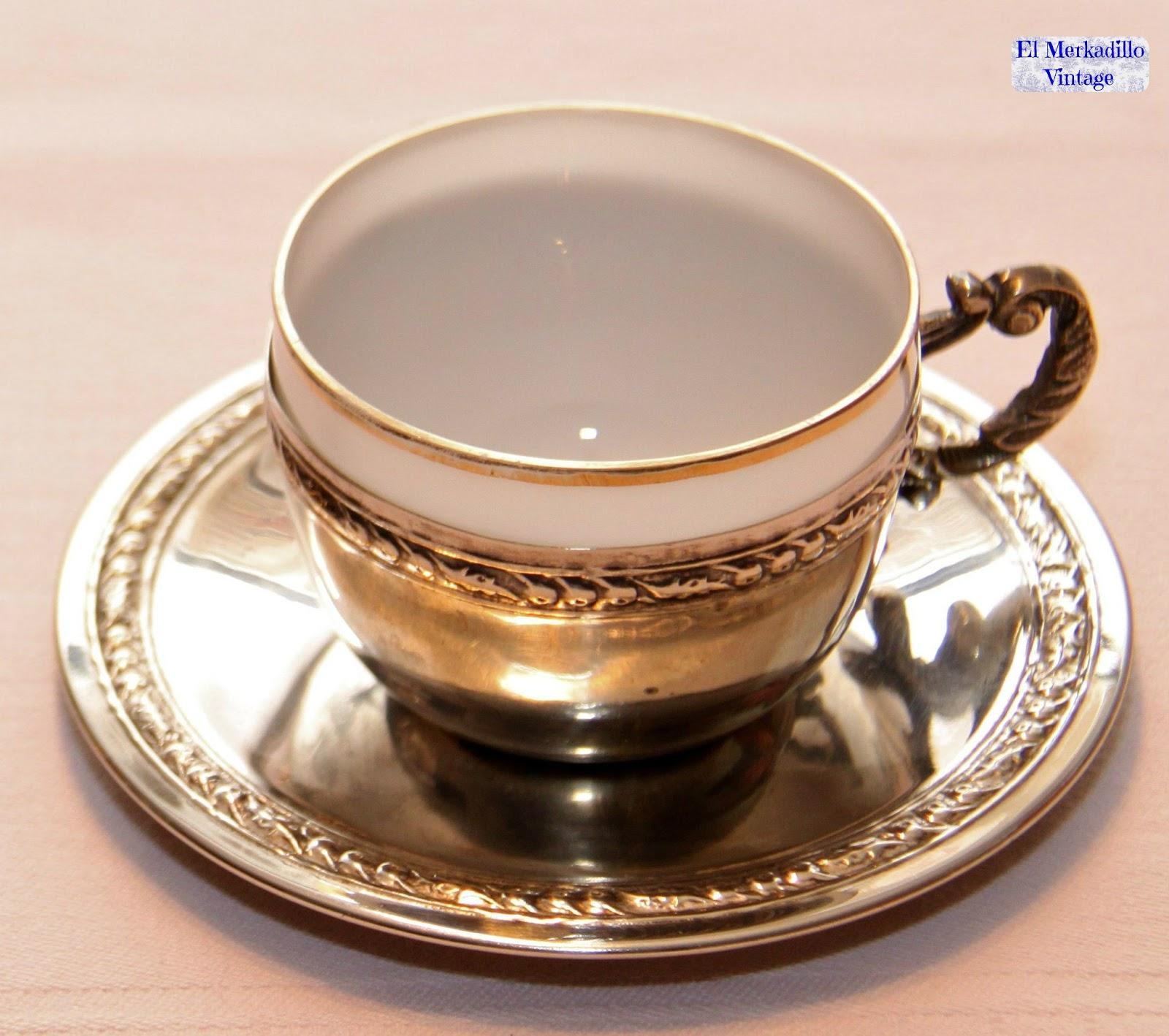 Juego de tazas caf de alpaca ref 7512 el merkadillo for Juego tazas cafe