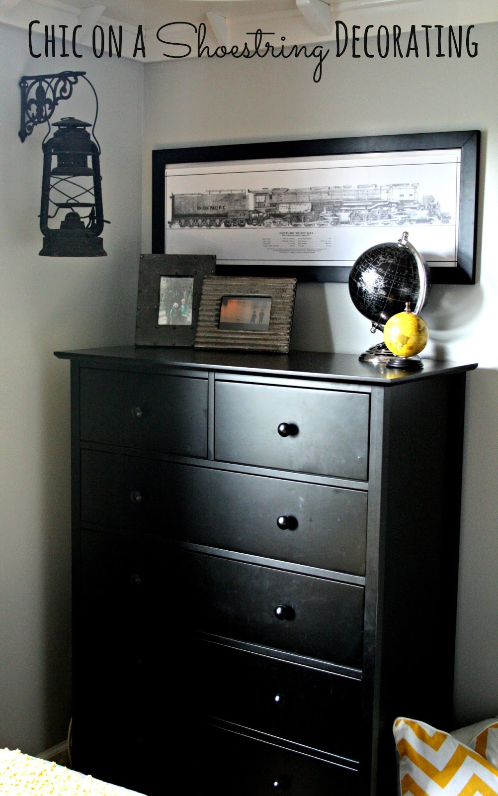 Boys Room: Chic On A Shoestring Decorating: Bigger Boy Room Reveal