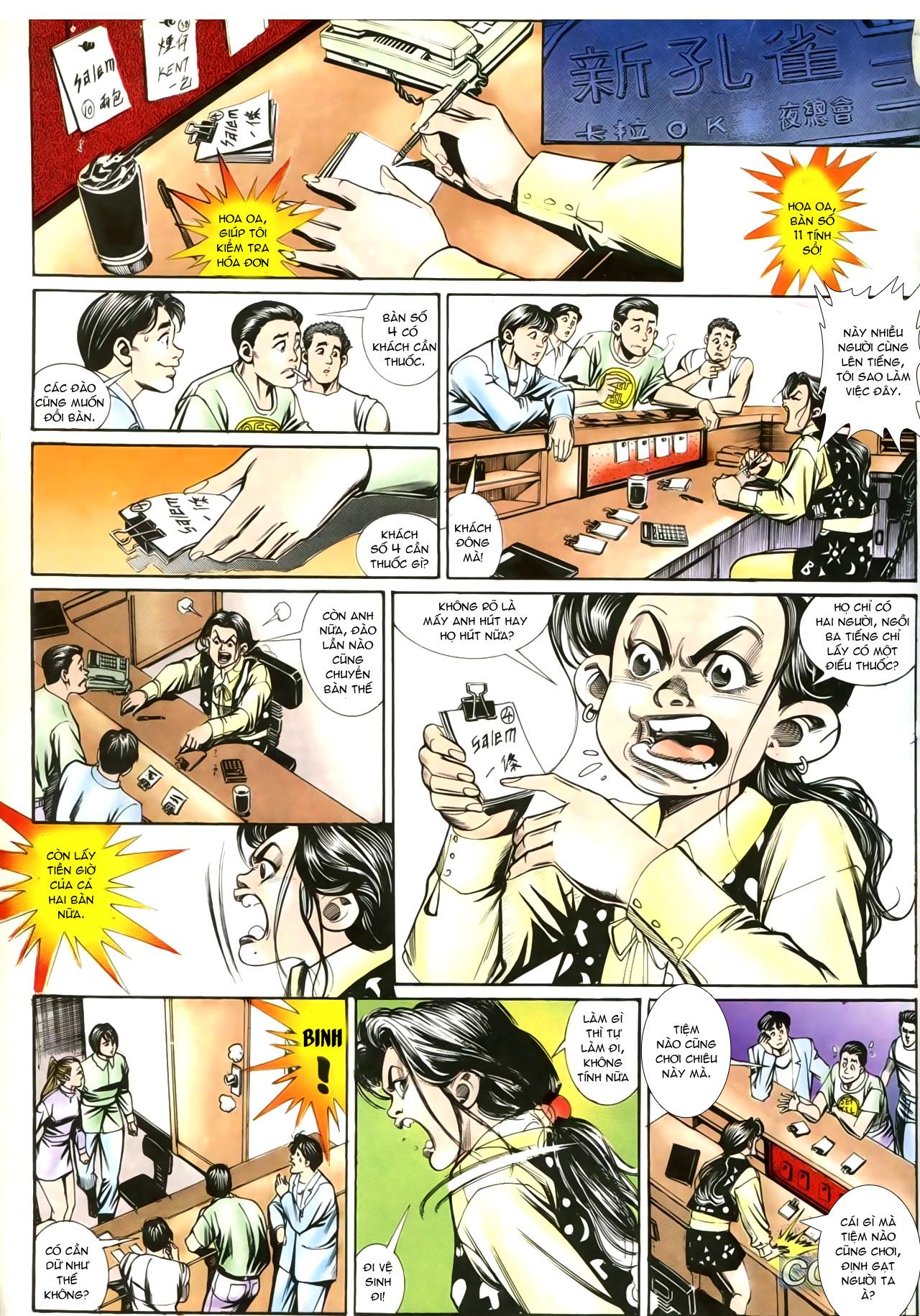 Người Trong Giang Hồ chapter 207: nhật ký đau lòng trang 22