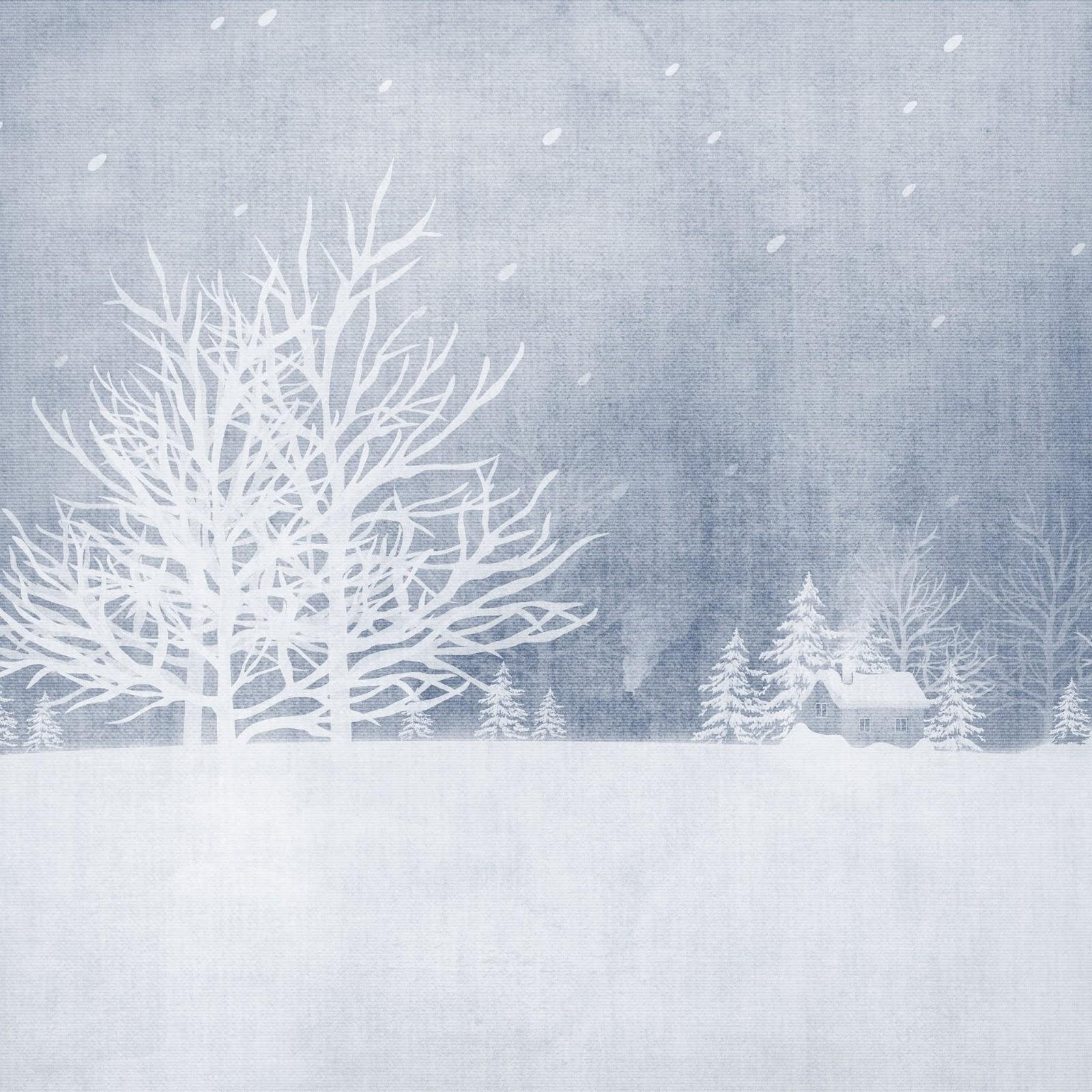 Скрапбукинг зима картинки