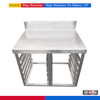 Harga Meja Stainless steel anti karat untuk bakery