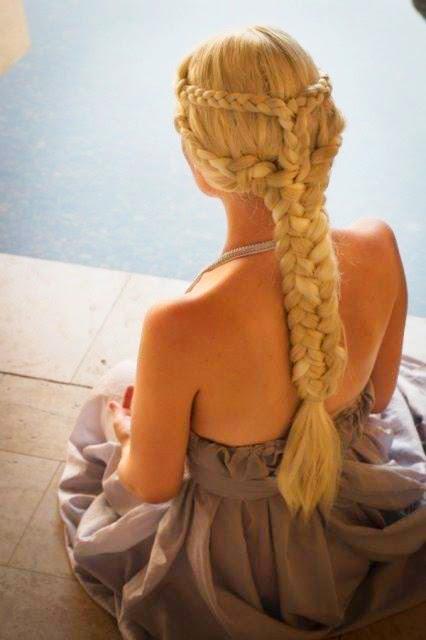 Trança estilo Elsa do filme Frozen