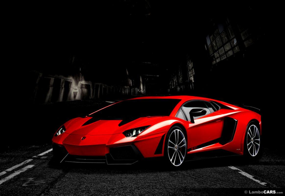 Lamborghini Aventador Black And Red Wallpaper Hd