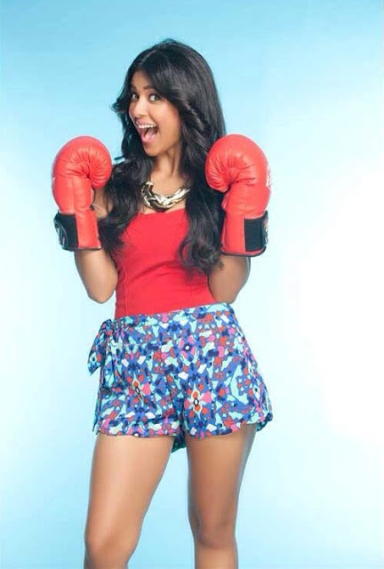 Prerna Panwar Sexy Boxing
