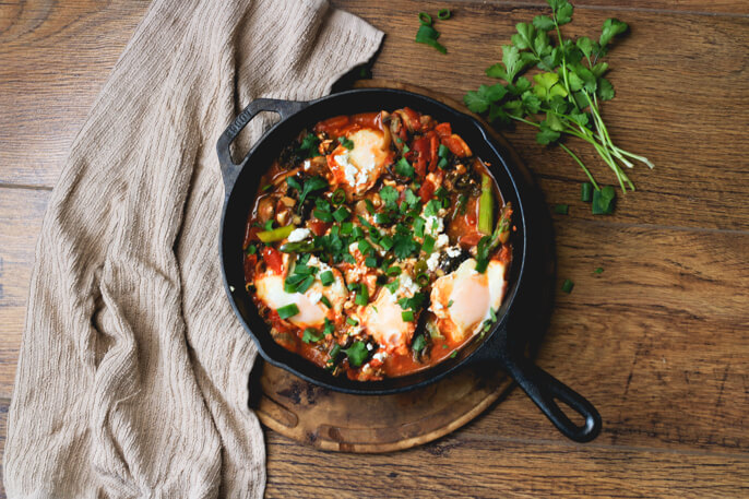 Egg and Chorizo Breakfast Skillet