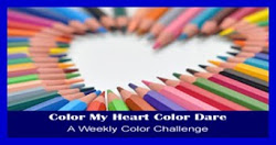Color My Heart Color Dare Challenges