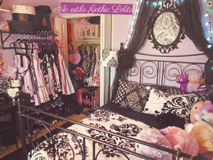 Decoração Gótica: Quarto À Moda Vitoriana Estilo Goth Lolita