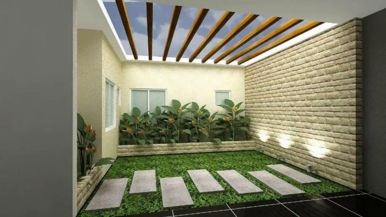 Permalink to Contoh 18+ Menarik Desain Taman Indoor Modern
