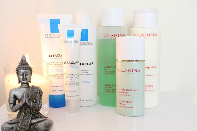 Skincare UK La Roche Posay Clarins beauty blog