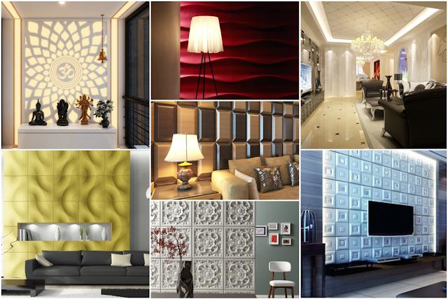15 Walls Gypsum Designs In Your Elegant Home