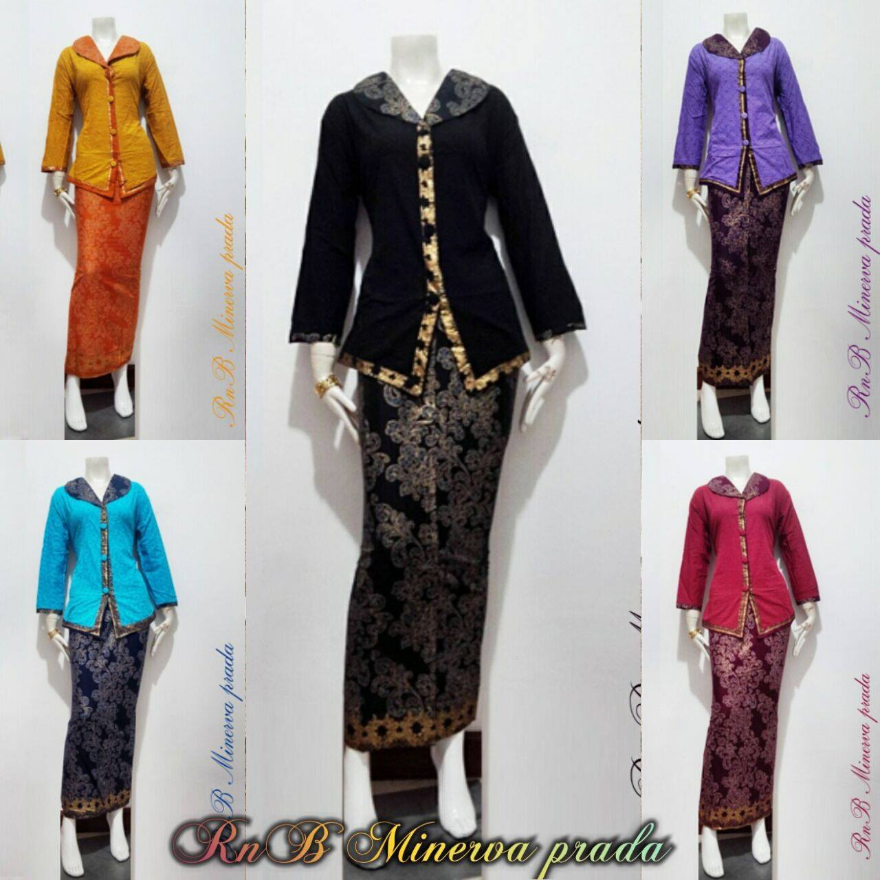 Baju Setelan Batik Wanita: Baju Batik Wanita Setelan Minerva Prodo