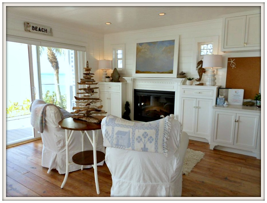 Sitting area-Serendipity I- Ana Maria Island Rental- From My Front Porch To Yours