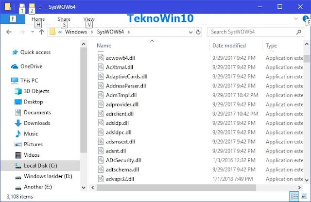 "Perbedaan Folder ""System32"" dan ""SysWOW64"" di Windows"