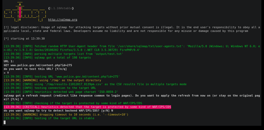 Advanced Sqlmap - Metasploit for SQL Injection